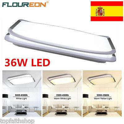 36W LED Remoto Ceiling Light Lámpara de techo Regulable Dimming for Room Kitchen
