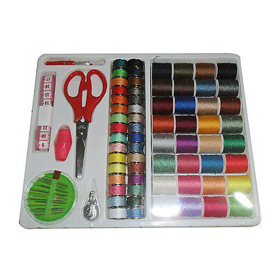 100-in-1 Essential Sewing Tools Kit Needlework Box Set for Domestic Machine