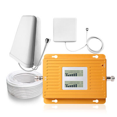 Sanqino Full Set Dual Band 850+1900MHz Mobile Cell Phone Network Signal Booster