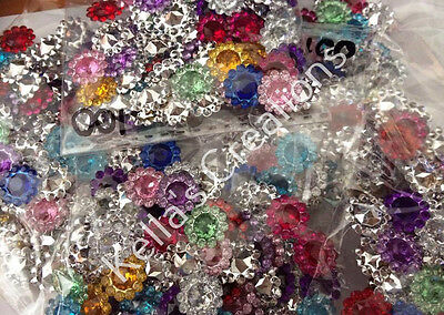 Mixed colours of embellishments x 100 - Craft - scrapbooking-Hair Accessories