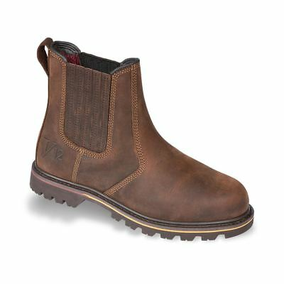 V12 Rancher Mens Dealer Boots Full Grain Leathe Non-Safetyr Work Casual Footwear