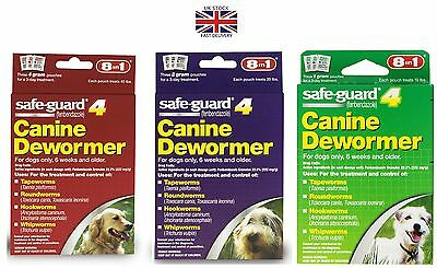8in1 Safe Guard Canine Dewormer for dogs kills all worm type-USA Best dewormer