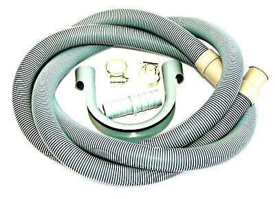 WASHING MACHINE DRAIN HOSE WASTE PIPE 4M 29 X 22 MM ENDS SAME DAY POST