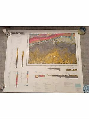 AMMANFORD Geological Survey Map 1:50000 SOLID Geology sheet 230