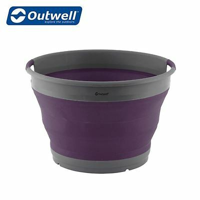 Outwell Collaps Washing-Up Bowl - Rich Plum - New For 2017 650639