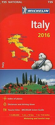Italy 2016 (Michelin National Maps) 735
