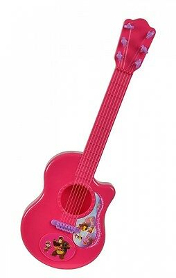 Masha and the Bear 109306623 - Guitar - Pink. Brand New