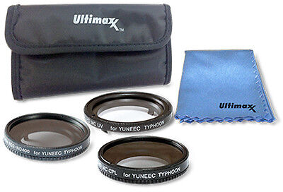 Yuneec Q500 4K and Typhoon H 5PC Filter Kit by ULTIMAXX - Brand New!