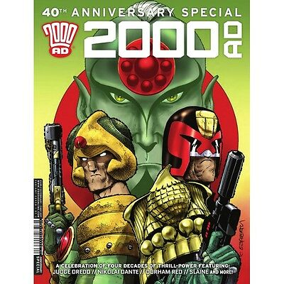 2000 AD 40th Anniversary Special [ First Print ] (Rebellion) - bagged and boarde