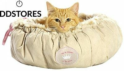 Bobby Nuage Corbeille pour Chat Beige Taille S