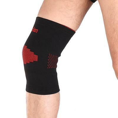 Knee Brace Support Pad Strap Guard Protector Gel Sports Work Out Elastic Pads #1