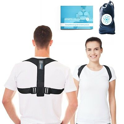 Posture Corrector Adjustable Clavicle Back Support Brace for Men & Women
