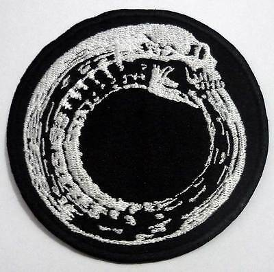 TURBONEGRO snake embroided red patch Turbojugend Motorhead Hellacopter