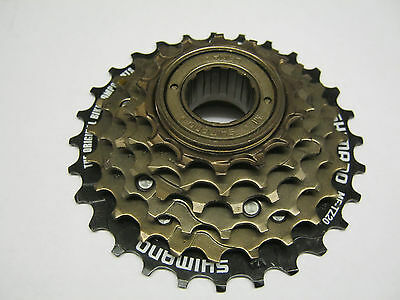 6 Speed Freewheel Shimano 14 - 28 Teeth Free Wheel Gears Cassette MF-TZ20