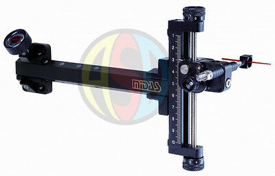 Cartel Archery Maxion Compound Sight Alloy Frame with Carbon Extension Bar.