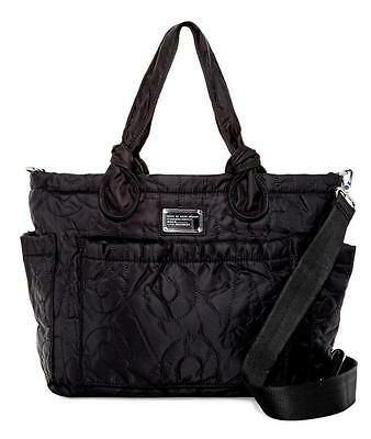 Marc Jacobs Nylon Eliza Tote Black Diaper Bag