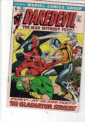 Marvel Comic Daredevil   no 85 March 1972