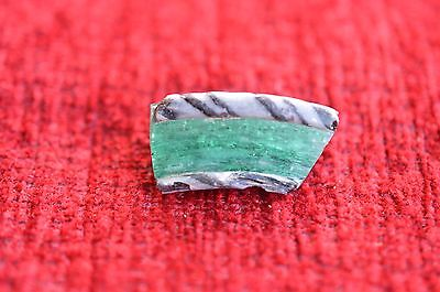 ANCIENT ROMAN GLASS  FRAGMENT ! 4g  1 PIECE #0163