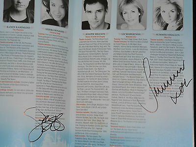 Love Never Dies - Adelphi Theatre Signed By Stars!