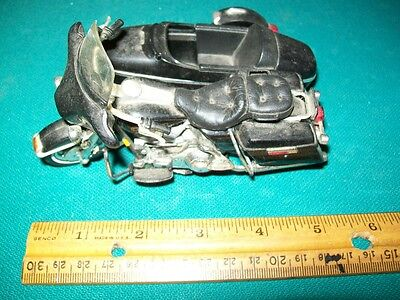 Used Motorcycle Toy Model Maisto SideCar Side Car Motor Cycle Plastic