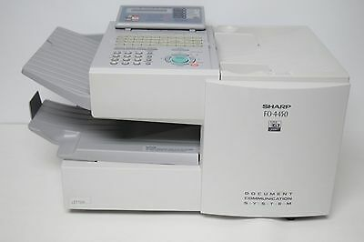 Sharp FO-4450 Copy FAX Machine Printer #113