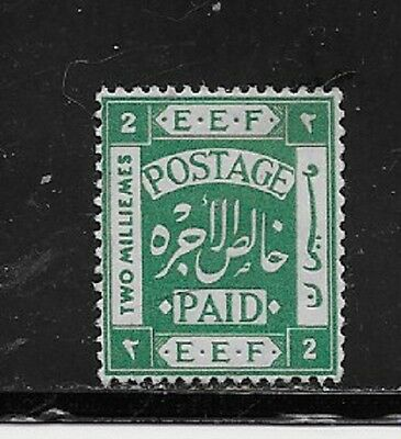 Palestine Stamps- Scott # 5/A1-2m-Mint/H-1918-NG