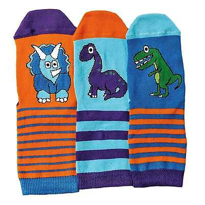 DINO oddsocks, Set di 3 per bambini Calzini da UNITED oddsocks (UK 9-12)