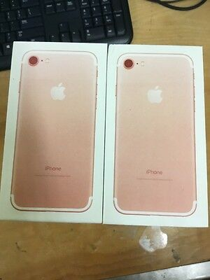 iPhone 7 - Replacement Box - Rose - Lot Of 10