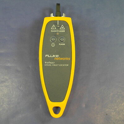 FLUKE NETWORKS VisiFault Visual Fiber Optic Fault Locator, Good Condition