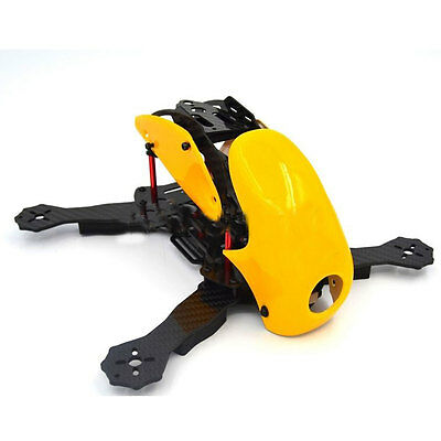 Robocat 270mm 4Axis Carbon Fiber Racing Quadcopter Frame with Hood Cover for