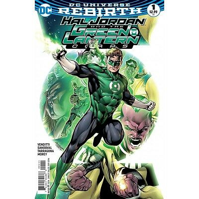 Hal Jordan And The Green Lantern Corps - #1 (Dc Comics) - bagged and boarded
