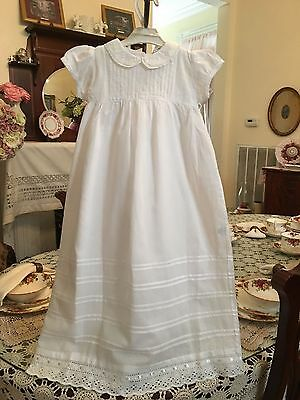 Infant Girls 3 piece Christening Gown set NWT sz 6 months dadida by Zyno