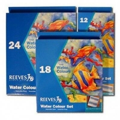 12ml Water Colour Paint Set 12 pack by Reeves. The Range. Best Price