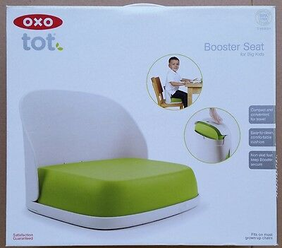 OXO Tot Seedling Booster Seat for Big Kids, Green