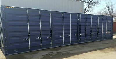 40' Shipping/Storage Container Full Open side Delivery to NE, IA, KS, MO, SD