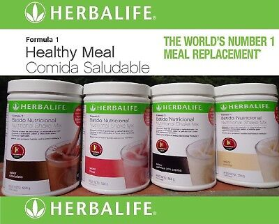 Herbalife Formula 1 Shake - Healthy Meal - Nutritional - Mix - Multi Flavor