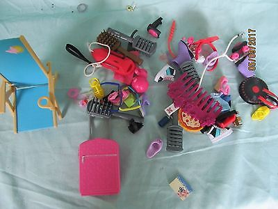 Mixed Barbie accessories lot