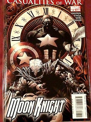 Moon Knight #8 (2007) - Casualties of War NM & #10 (Puisher) & 12 - NM