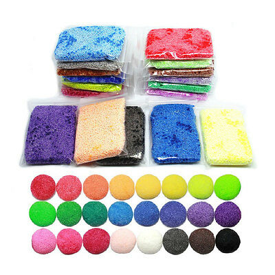 24 Colors Pearl Snow Clay Mud Playdough Non-toxic Educational Toys Random Color