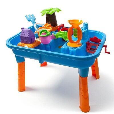 Kids Sand and Water Table - Outdoor Play Toy - Toddler - Childrens Fun