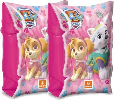 Paw Patrol GIRLS Inflatable Armbands Skye Everest Swimming Pool Summer Holiday