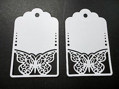 Butterfly Gift Tags Die Cut - Pkt 6