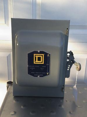 Square D B2262 Double Throw Safety Switch, 60A 600V Ac/dc Not Fusible (El-P39)