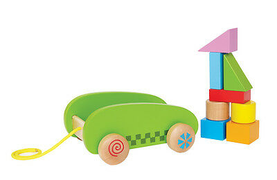 Mini Block & Roll by Hape | Kids Childrens Wooden Pretend Play Playsets