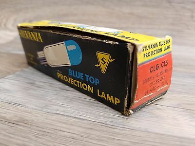 Vintage NOS Sylvania CLS - CLG BlueTop Projector Lamp Bulb 300W 120V Projection