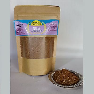 MALAY CURRY  SPICE BLEND 100g MALAY COOKING SPICES