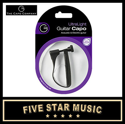 NEW G7 ULTRALIGHT GUITAR CAPO G7th WORLD'S BEST CAPO ULTRA LIGHT - NEW MODEL