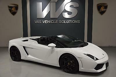 2011 Lamborghini GALLARDO LP 560-4 SPYDER HIGH SPEC ONLY 5000 MILES Automatic Co
