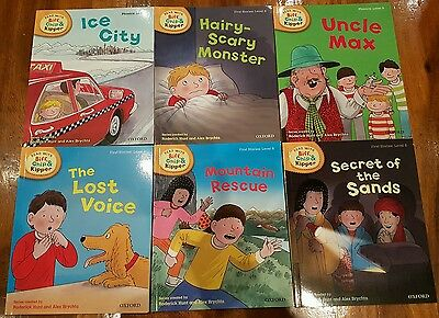 New oxford (level 6) x6 read With Biff,Chip & Kipper  book collection