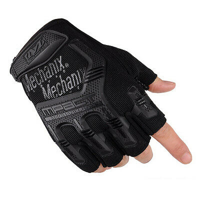 Weight Training Gloves Fitness Exercise Fiber Workout Body Building Gym Lifting